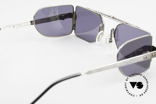 L.A. Eyeworks FONTANA 401 Side Shield Steampunk Frame