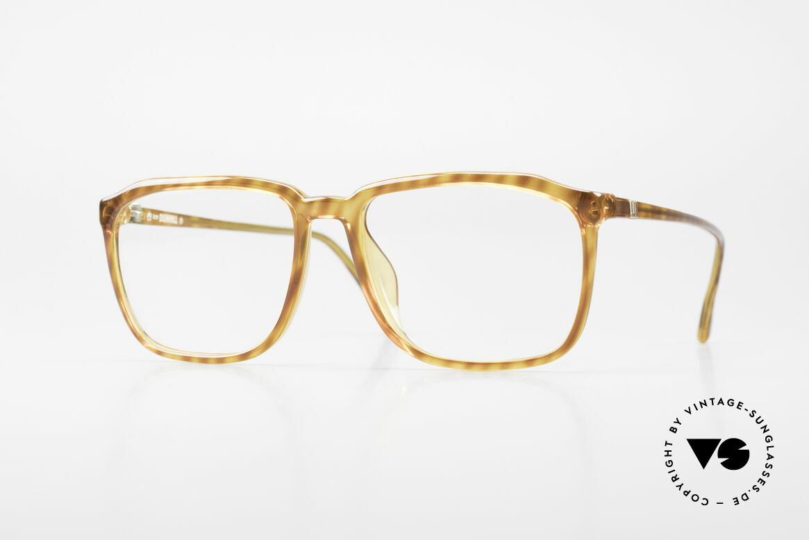 Dunhill 6133 Vintage Optyl Eyeglasses, striking designer glasses by Alfred Dunhill from 1990, Made for Men