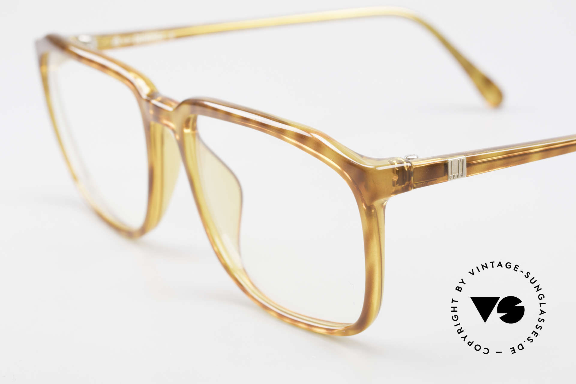 Dunhill 6133 Vintage Optyl Eyeglasses, 90's gentlemen's style (characteristical A. DUNHILL), Made for Men