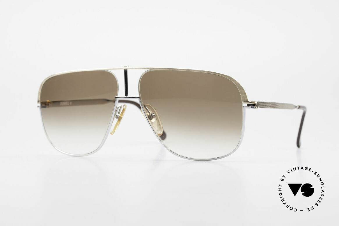 Dunhill 6019 80's Gentlemen Luxury Shades, LUXURY vintage sunglasses by A. DUNHILL from 1984, Made for Men