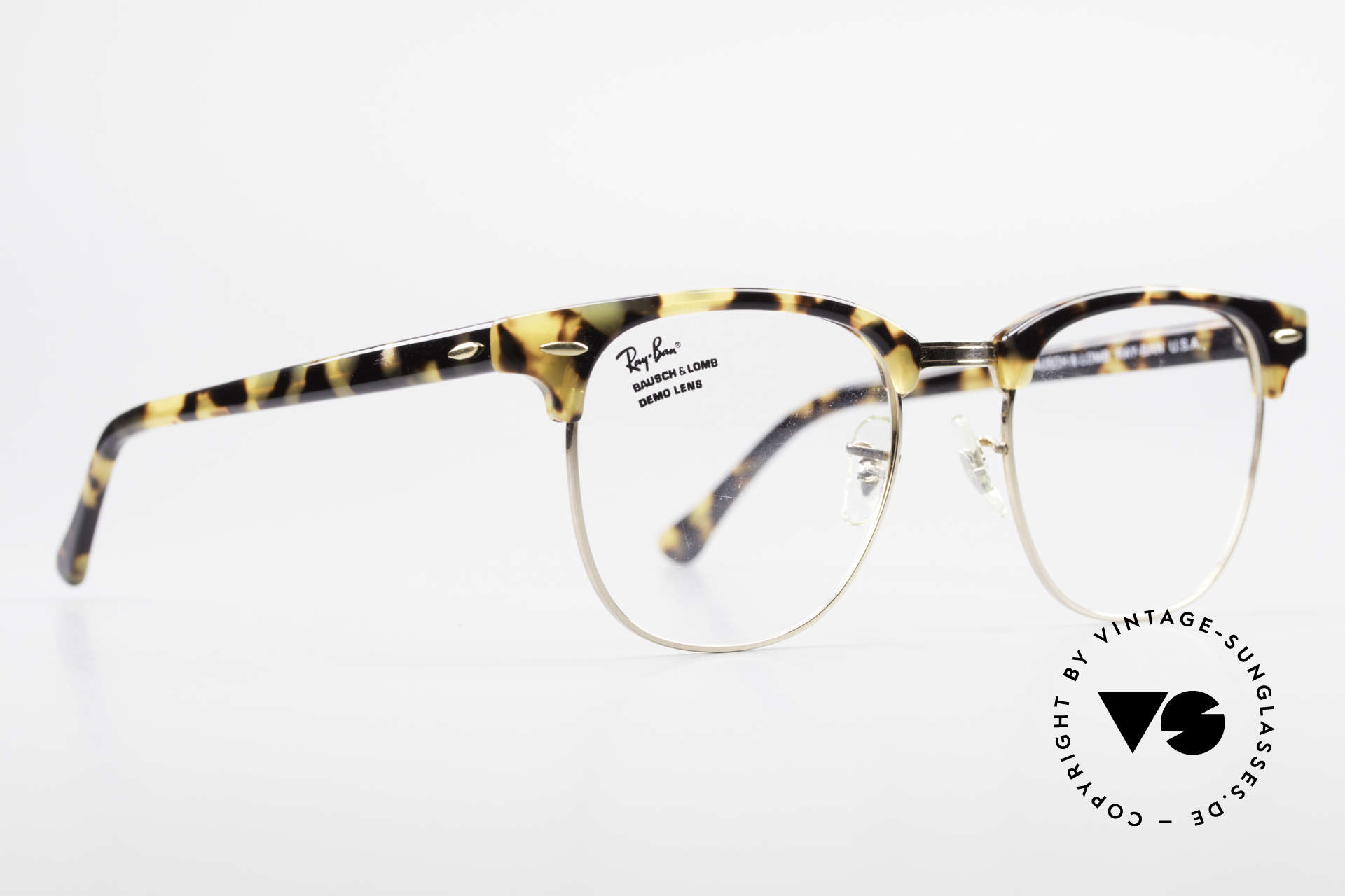 Ray Ban Clubmaster II Large Limited Edition USA B&L, limited special Edition: made upon request only, Made for Men
