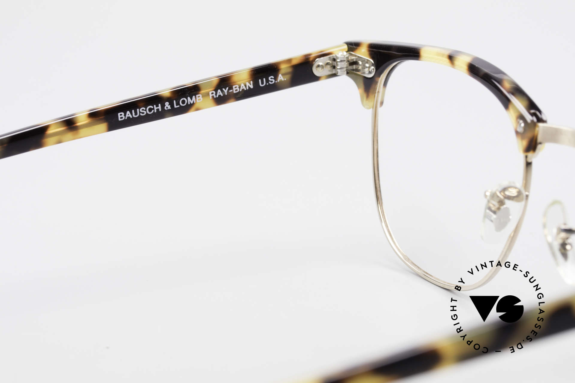 Ray Ban Clubmaster II Large Limited Edition USA B&L, high-end quality & with original Ray-Ban case, Made for Men