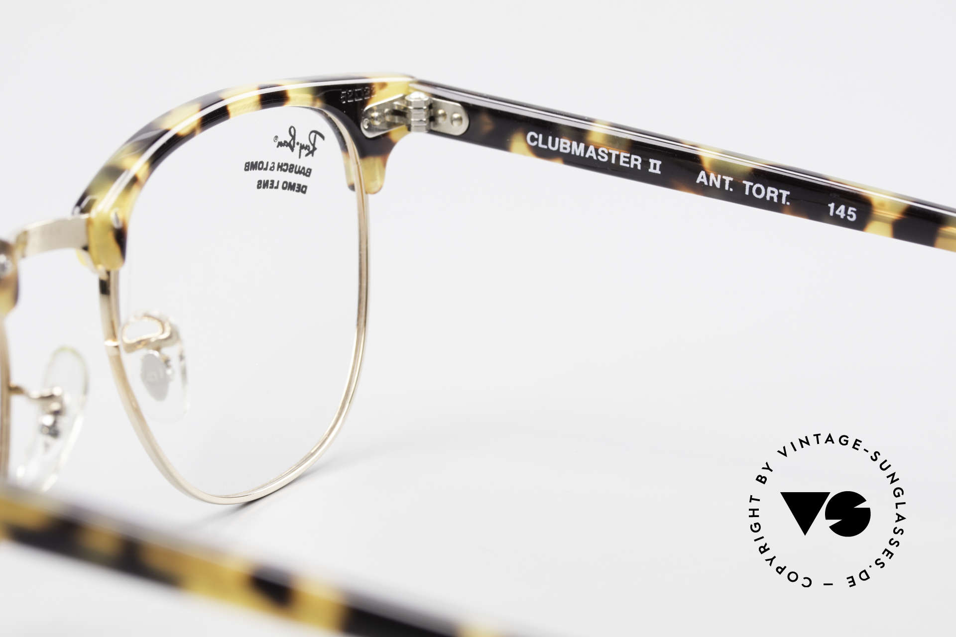 Ray Ban Clubmaster II Large Limited Edition USA B&L, NO retro frame, but a 25 years old B&L original, Made for Men