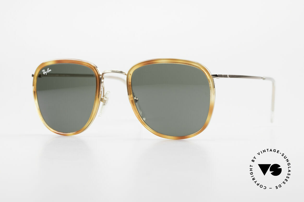 Ray Ban New Style Bausch & Lomb Italy Hybrid, Ray Ban sunglasses as a part of economic history, Made for Men and Women