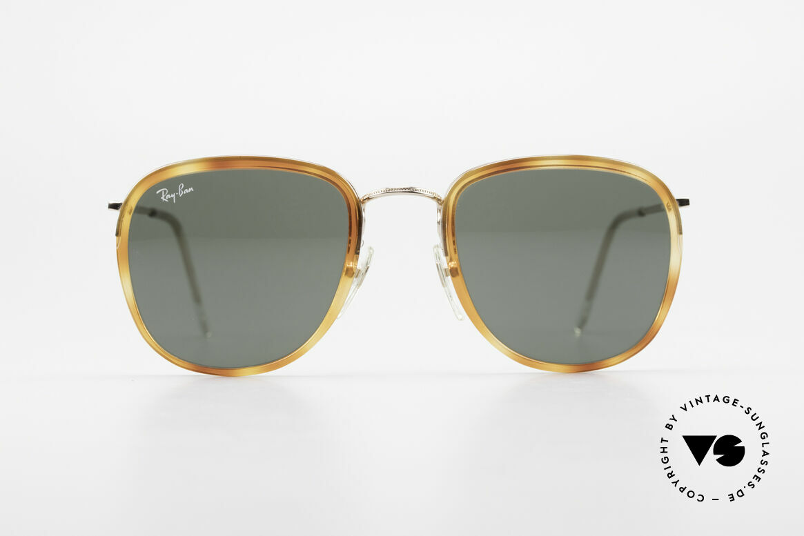 "Ray Ban New Style Bausch & Lomb Italy Hybrid, interesting model (""W0869"") from the late 1990's, Made for Men and Women"