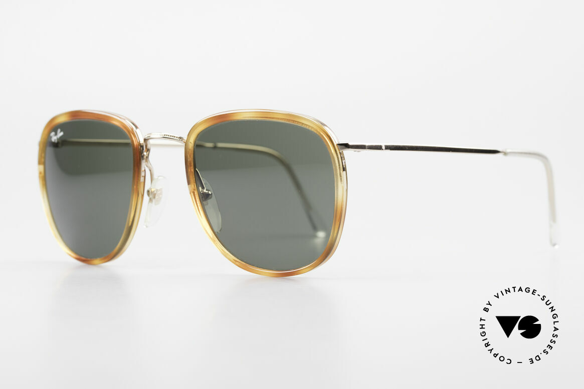 Ray Ban New Style Bausch & Lomb Italy Hybrid, frame and lenses were still produced by B&L (USA), Made for Men and Women