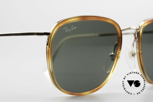 Ray Ban New Style Bausch & Lomb Italy Hybrid, unworn, NOS (like all our vintage Ray Ban glasses), Made for Men and Women