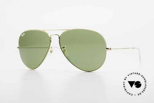 Ray Ban Large Metal II Old Vintage Shades B&L USA Details
