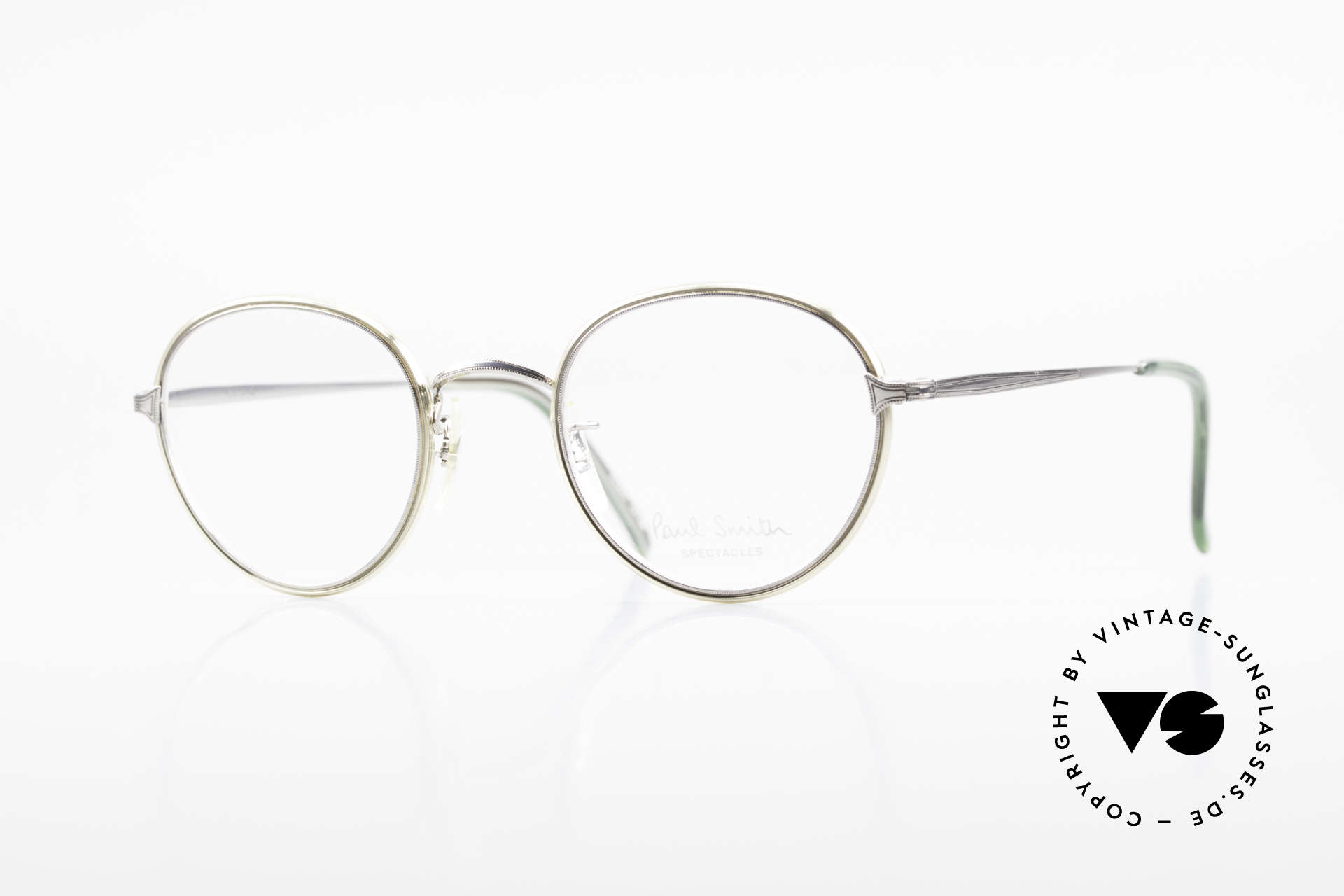 Paul Smith PSR109 80s Panto Frame Old Original, Paul Smith vintage glasses from the late 80's/early 90's, Made for Men