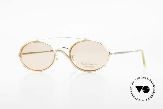 Paul Smith PSR108 Oval Vintage Frame With Clip Details