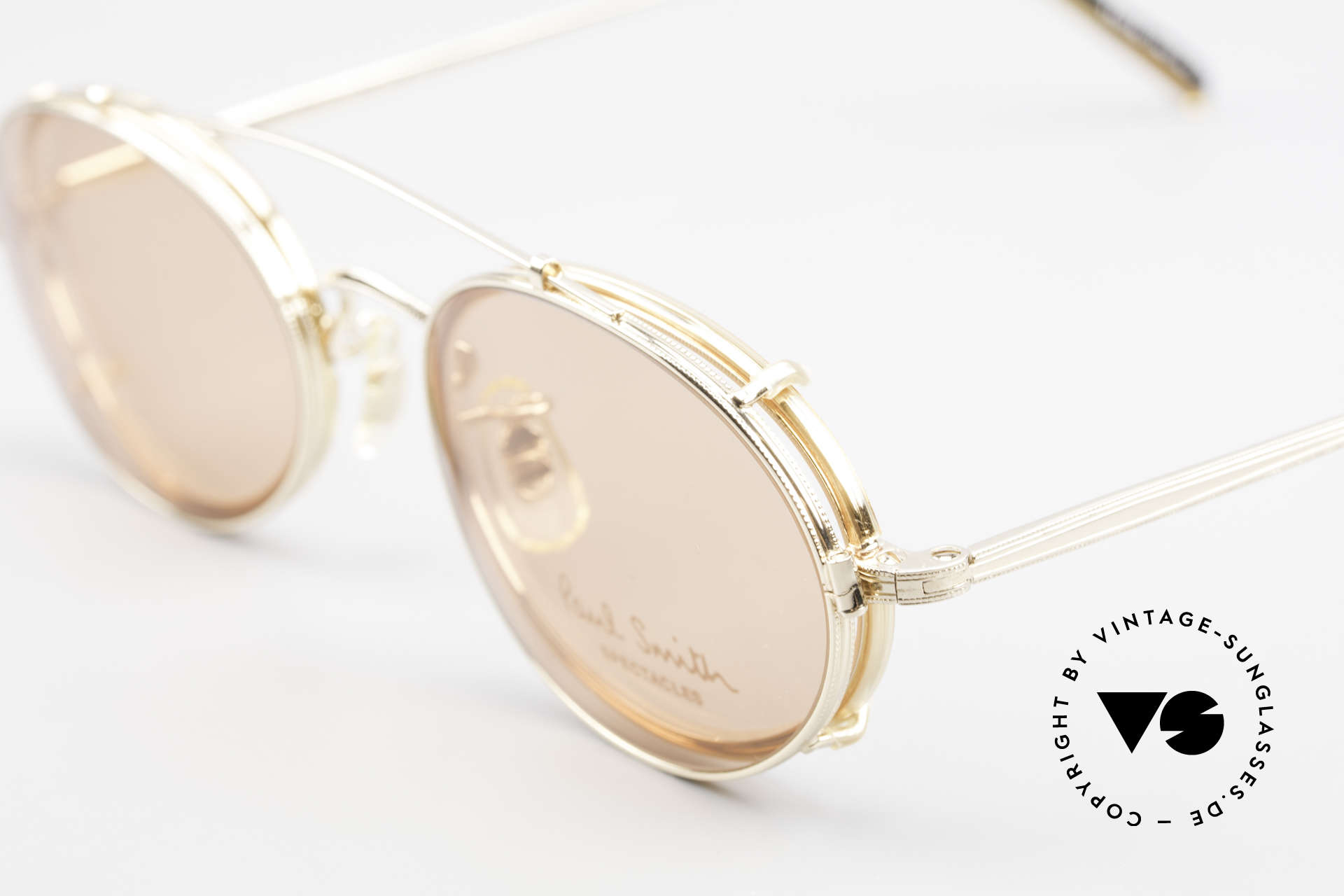 Paul Smith PSR108 Oval Vintage Frame With Clip, timeless design for men and TOP-NOTCH craftsmanship, Made for Men and Women