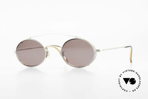 Paul Smith PS100 Oval Vintage Frame Clip On Details
