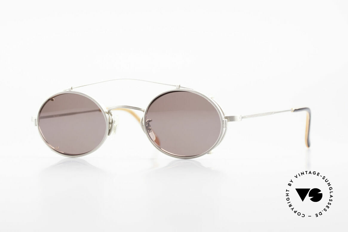 Paul Smith PS100 Oval Vintage Frame Clip On, Paul Smith vintage glasses from the late 80's/early 90's, Made for Men and Women