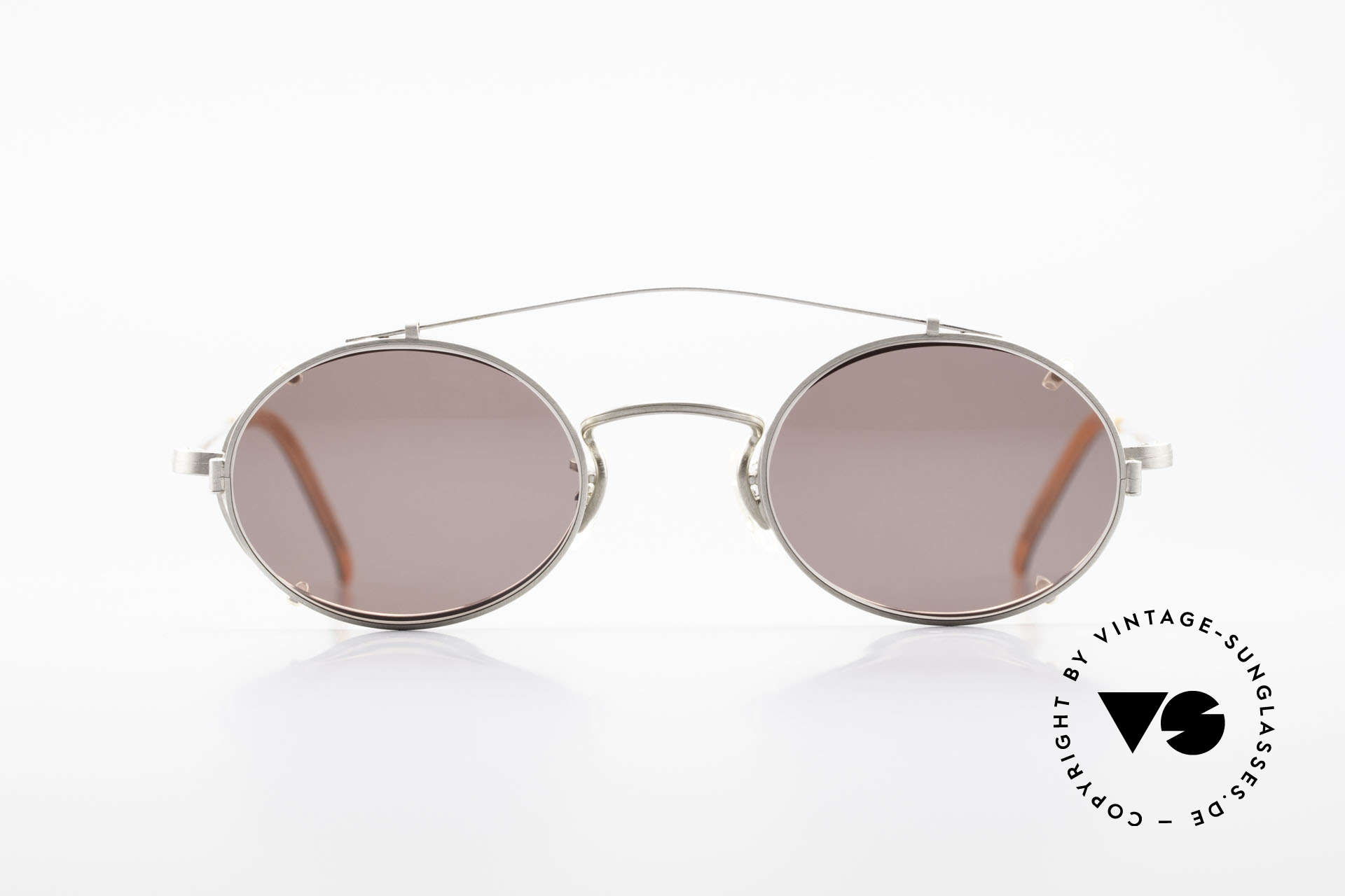 Paul Smith PS100 Oval Vintage Frame Clip On, the time before PS Spectacles became licensed products, Made for Men and Women