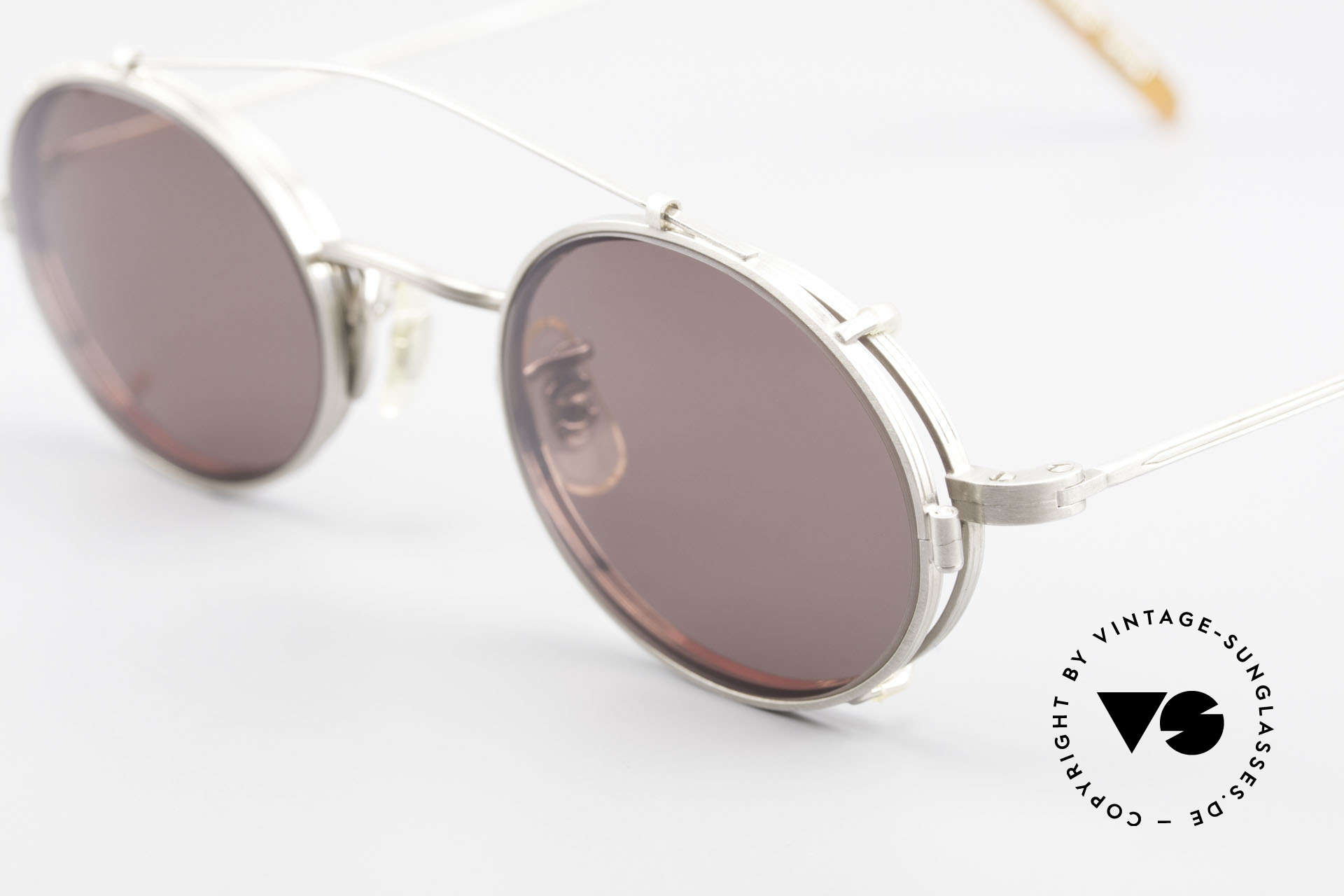 Paul Smith PS100 Oval Vintage Frame Clip On, timeless design for men and TOP-NOTCH craftsmanship, Made for Men and Women