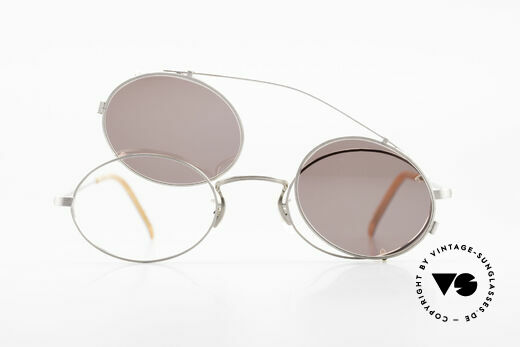Paul Smith PS100 Oval Vintage Frame Clip On, NO RETRO eyewear FASHION, but a unique old RARITY!, Made for Men and Women
