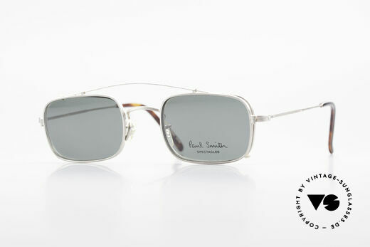 Paul Smith PS101 Square Vintage Frame Clip On Details