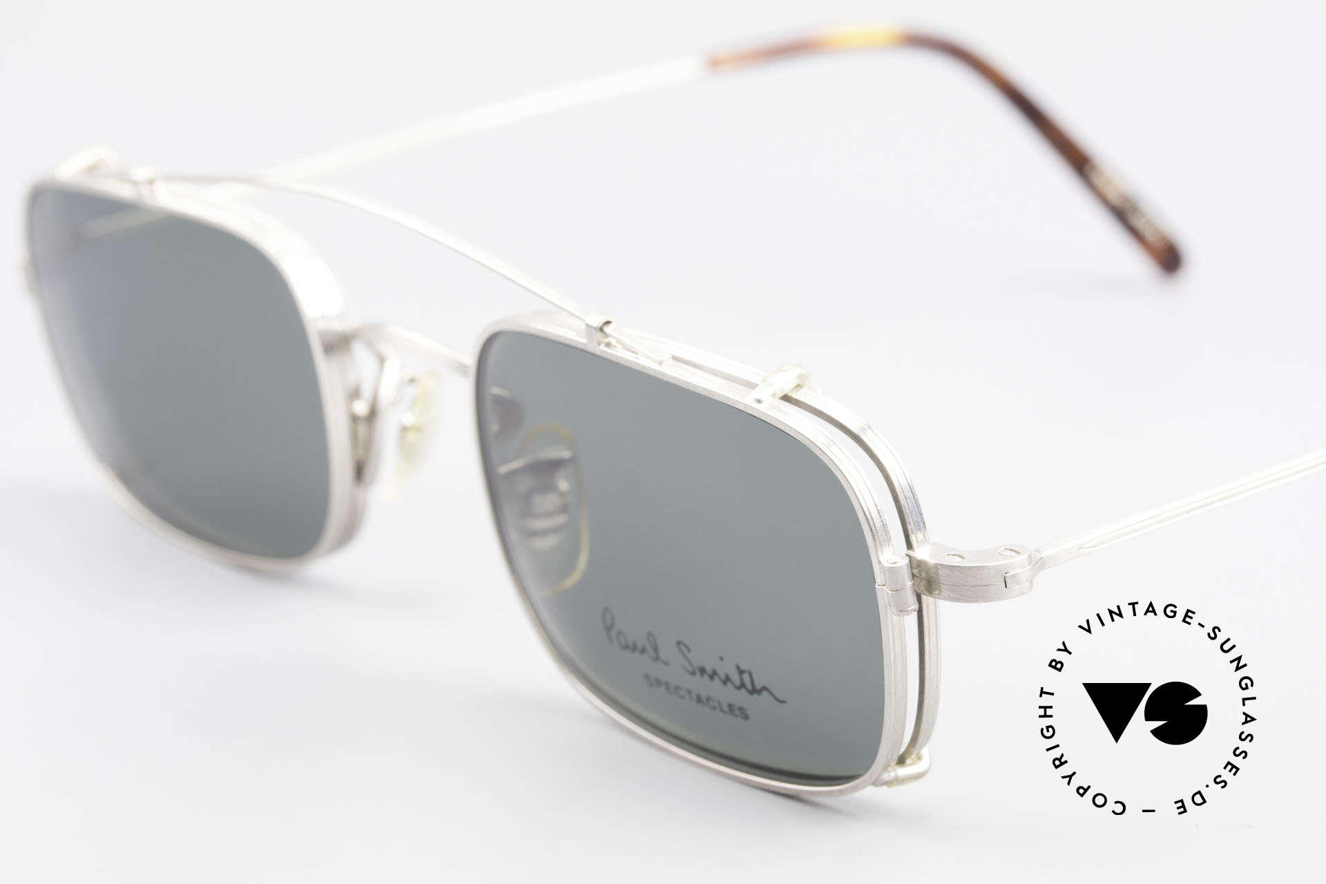 Paul Smith PS101 Square Vintage Frame Clip On, timeless design for men and TOP-NOTCH craftsmanship, Made for Men and Women