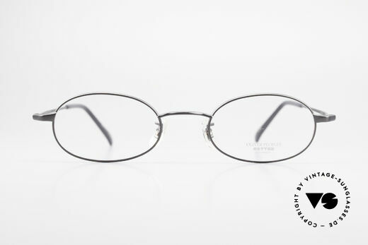 Oliver Peoples OP583 Oval 90's Frame With Sun Clip, Size: medium, Made for Men