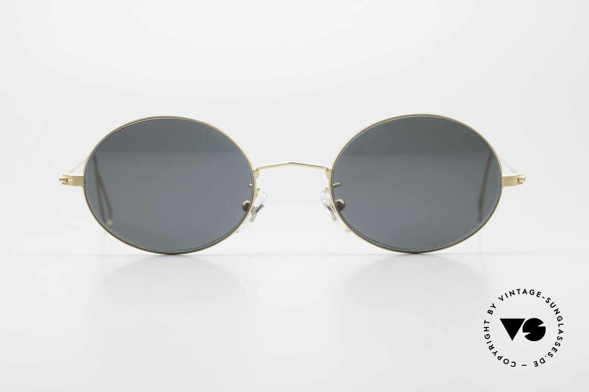 Cutler And Gross 0305 90's Oval Vintage Sunglasses