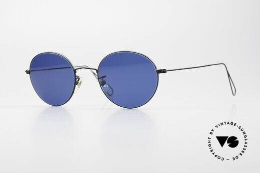 Cutler And Gross 0306 Round Vintage 90's Sunglasses Details