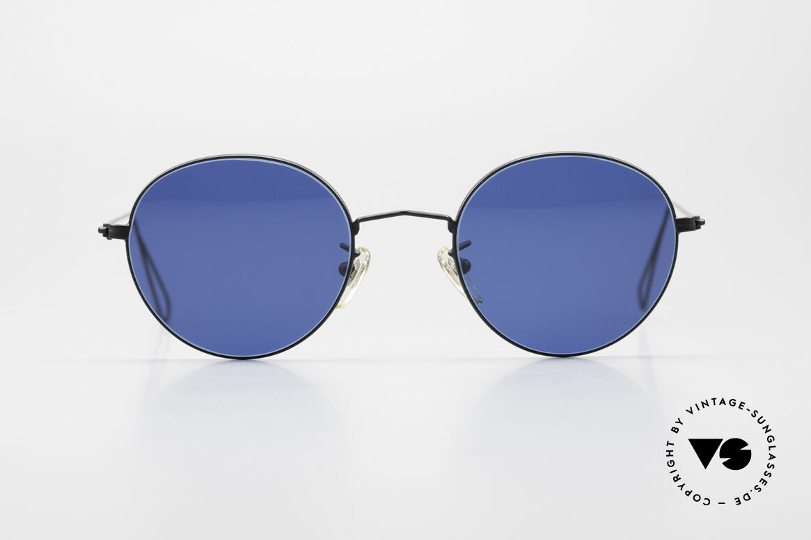 Cutler And Gross 0306 Round Vintage 90's Sunglasses, classic, timeless UNDERSTATEMENT luxury sunglasses, Made for Men and Women