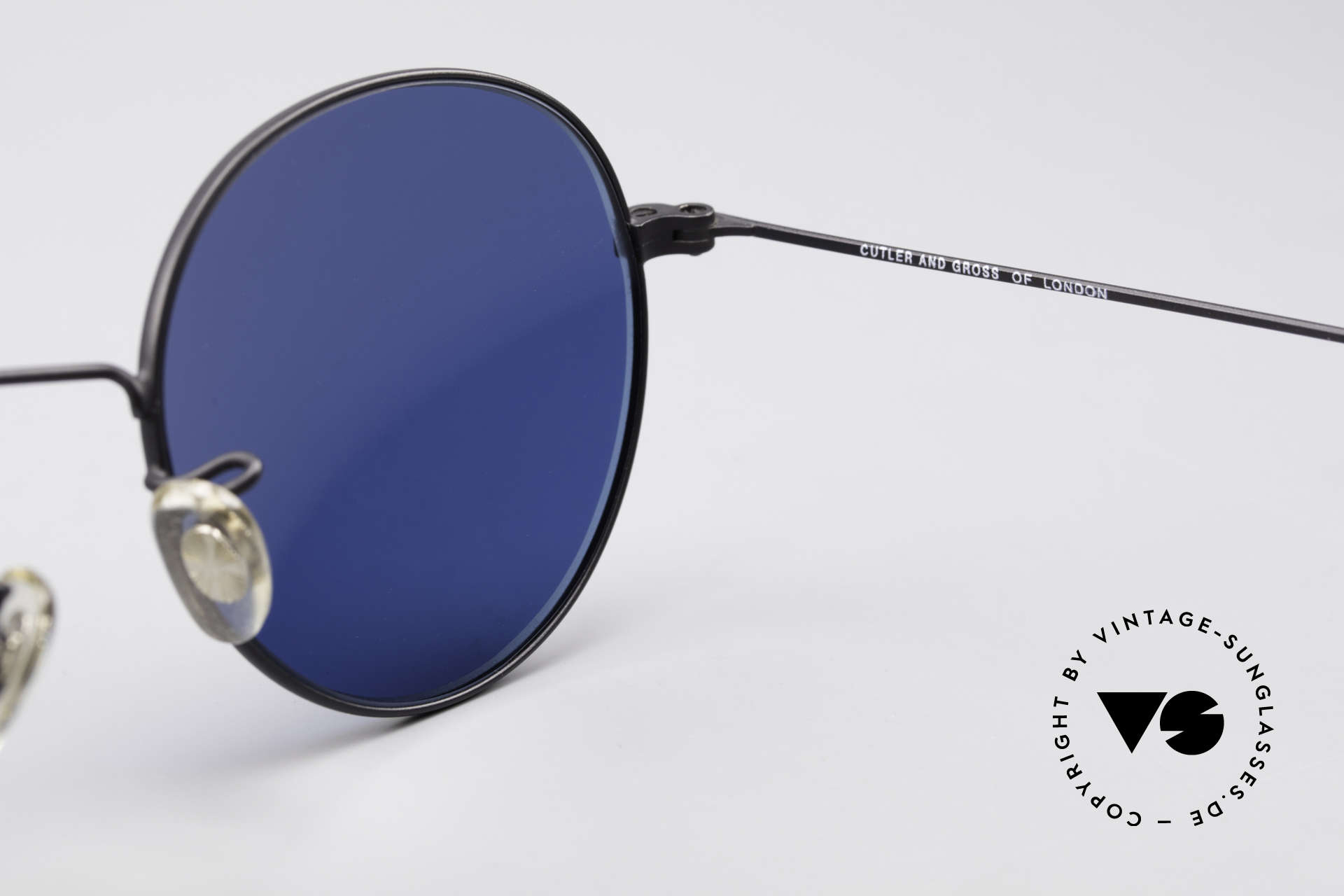 Cutler And Gross 0306 Round Vintage 90's Sunglasses, never worn; like all our vintage Cutler & Gross eyewear, Made for Men and Women