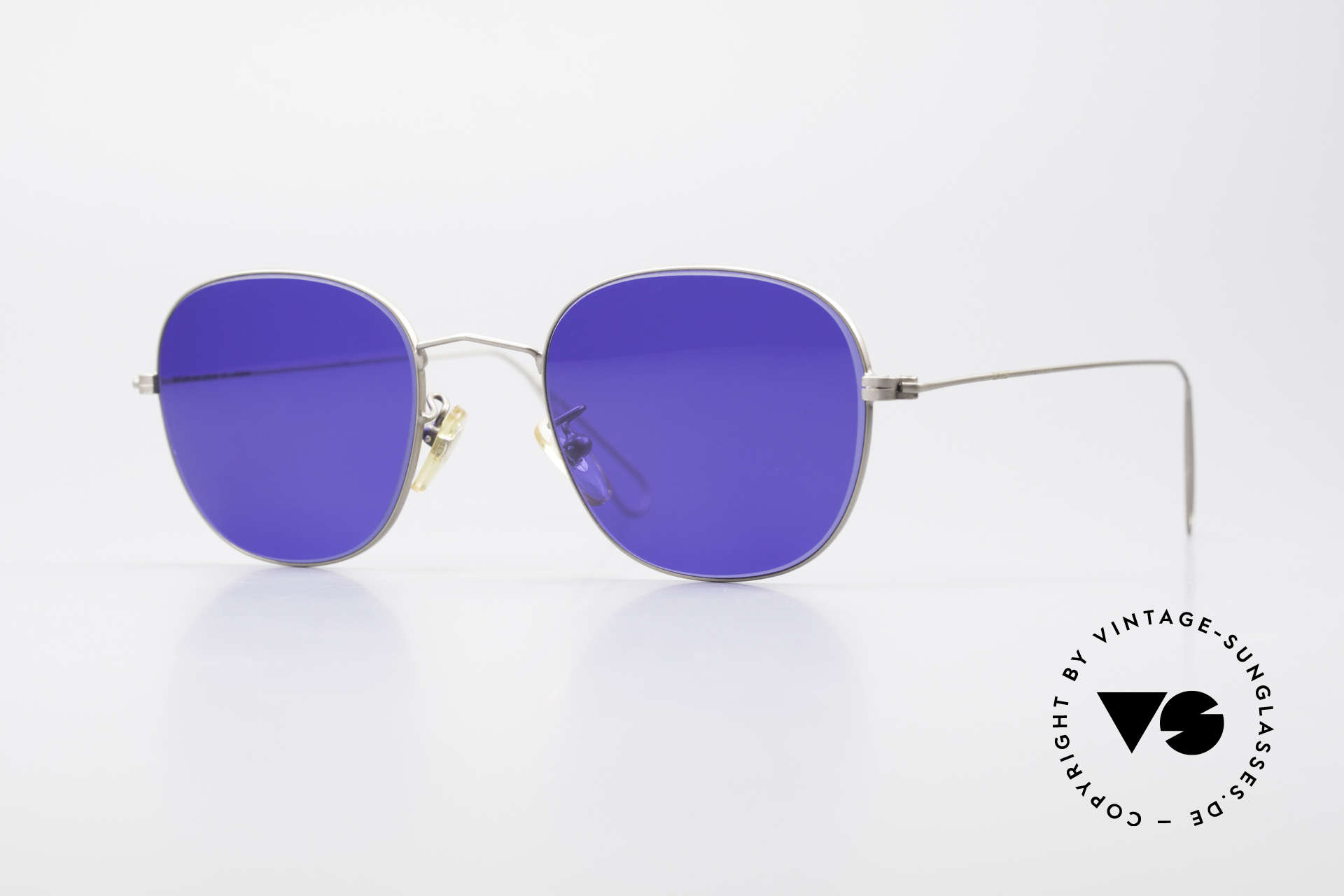 Cutler And Gross 0307 Classic Sunglasses Vintage, CUTLER and GROSS designer shades from the late 90's, Made for Men and Women