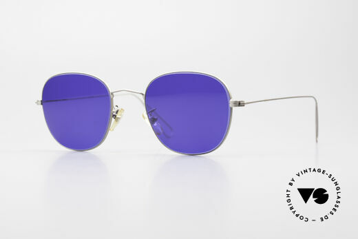 Cutler And Gross 0307 Classic Sunglasses Vintage Details
