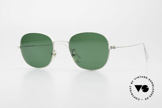 Cutler And Gross 0307 Classic Vintage Sunglasses Details