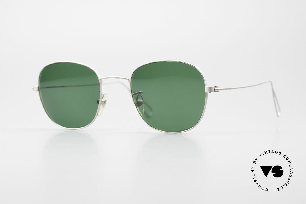 Cutler And Gross 0307 Classic Vintage Sunglasses, CUTLER and GROSS designer shades from the late 90's, Made for Men and Women