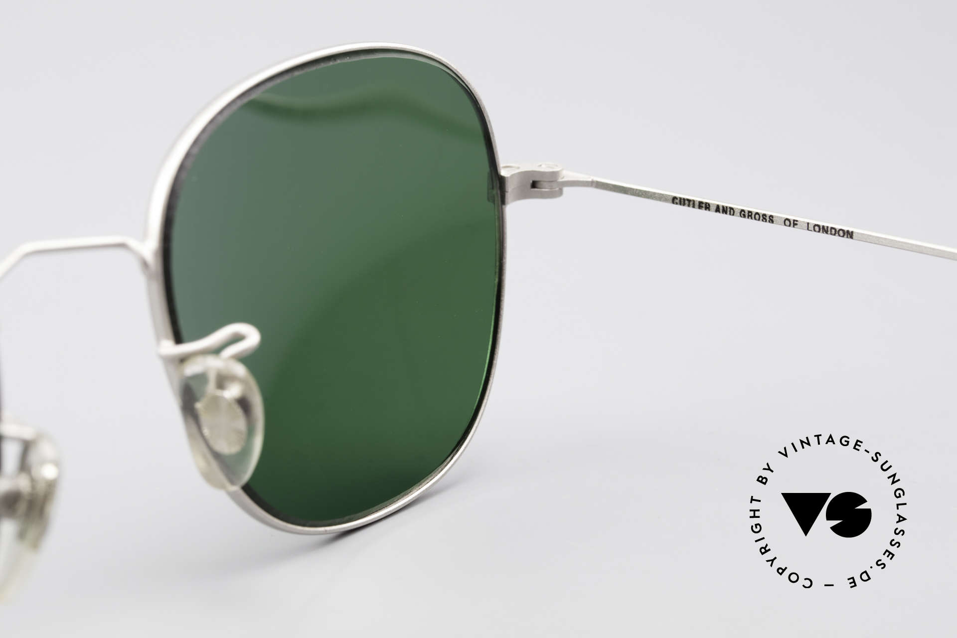 Cutler And Gross 0307 Classic Vintage Sunglasses, never worn; like all our vintage Cutler & Gross eyewear, Made for Men and Women