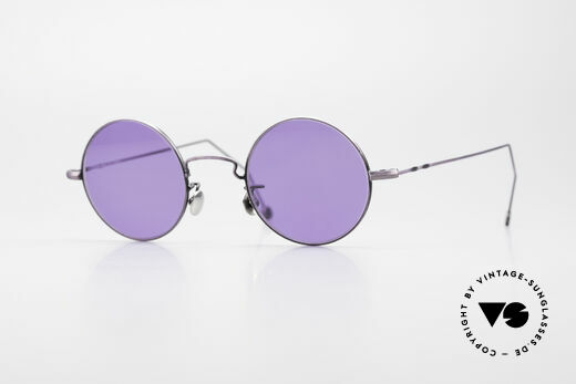 Cutler And Gross 0408 90's Round Vintage Sunglasses Details
