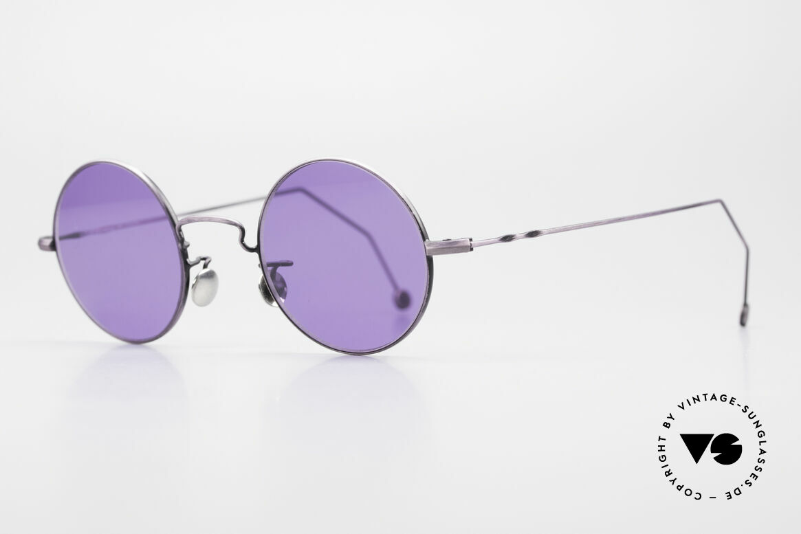 Cutler And Gross 0408 90's Round Vintage Sunglasses, stylish & distinctive in absence of an ostentatious logo, Made for Men and Women