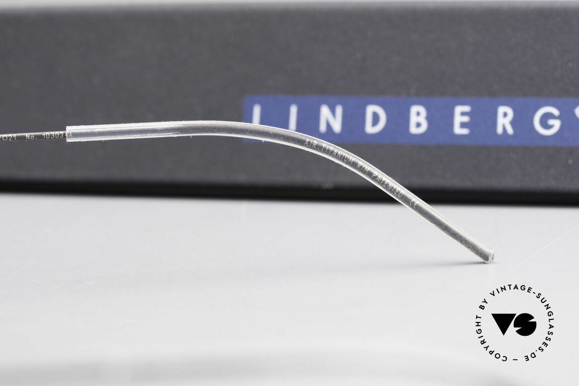 Lindberg Zeta Air Titan Rim Oval Titanium Frame Unisex, Size: medium, Made for Men and Women