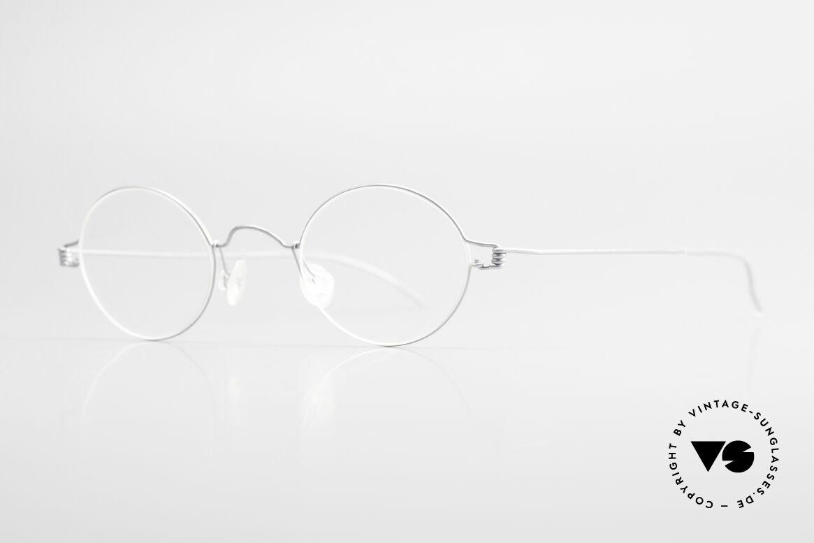 Lindberg Pio Air Titan Rim Round Titanium Frame Unisex, simply timeless, stylish & innovative: grade 'vintage', Made for Men and Women