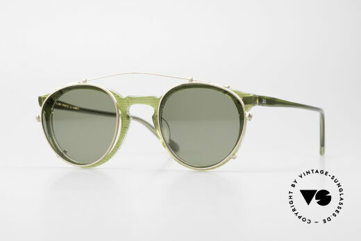 Oliver Peoples O'Malley 981 The 80's Original With Clip On Details