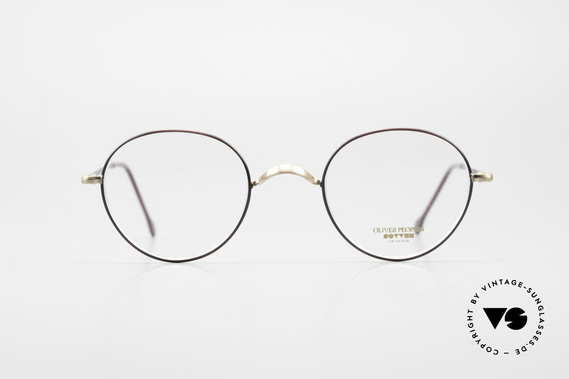Oliver Peoples OP80BG 90's Vintage Frame Clip On, Size: small, Made for Men and Women