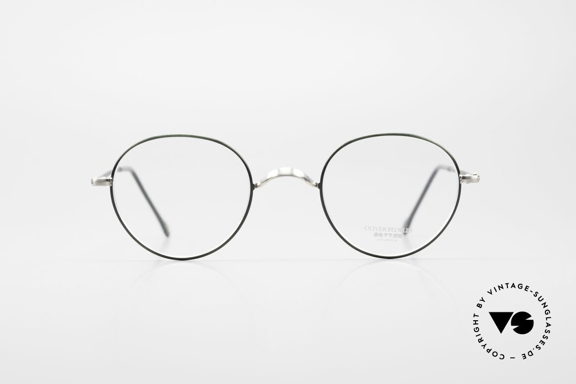 Oliver Peoples OP80BC Round Frame Square Clip On
