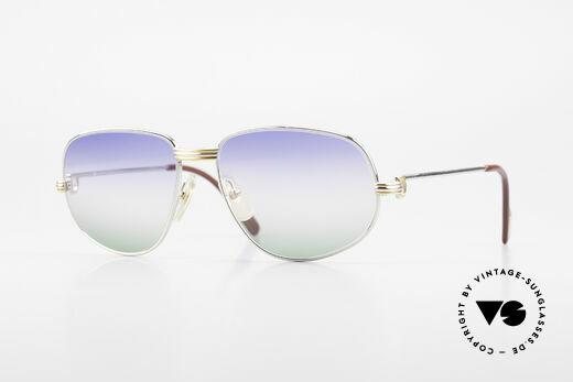 Cartier Romance LC - M Platinum Finish Sunglasses Details