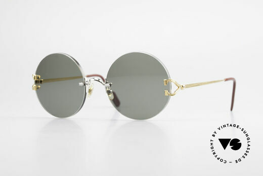 Cartier Madison Round Customized Sunglasses Details