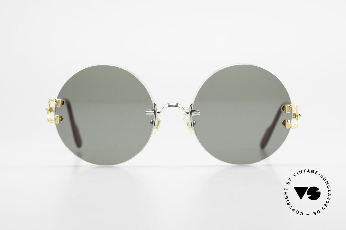 Cartier Madison Round Customized Sunglasses