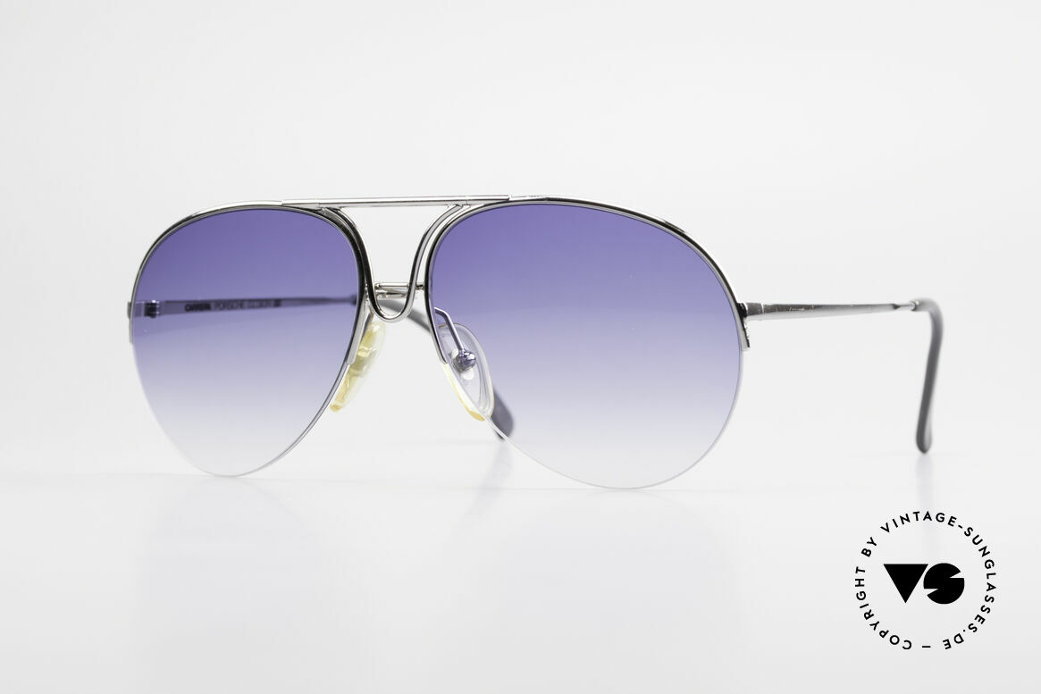 Porsche 5627 Semi Rimless 90's Sunglasses, noble designer sunglasses by PORSCHE DESIGN, Made for Men