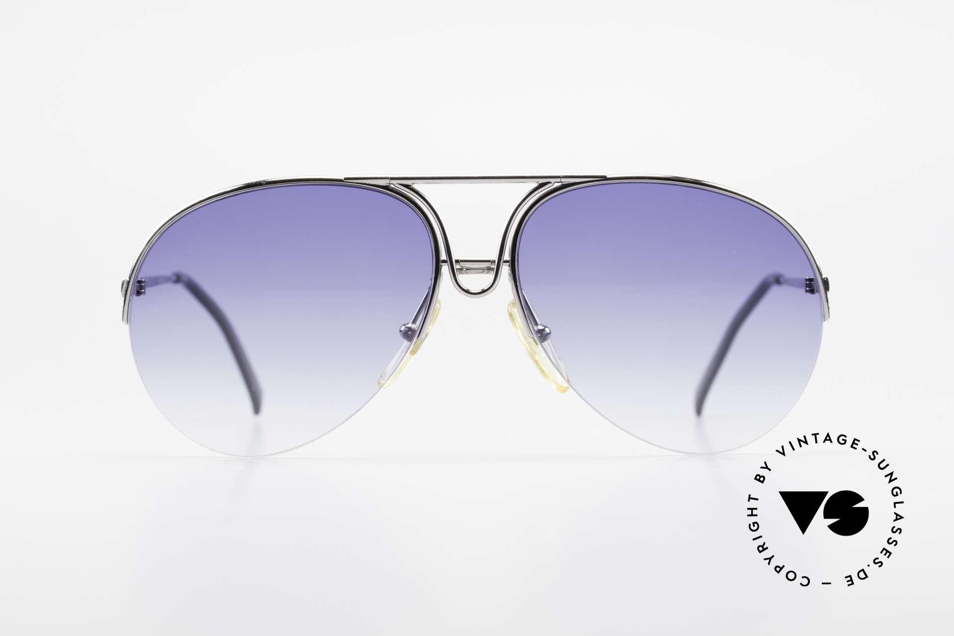Porsche 5627 Semi Rimless 90's Sunglasses, rimless frame, lightweight & first class comfort, Made for Men