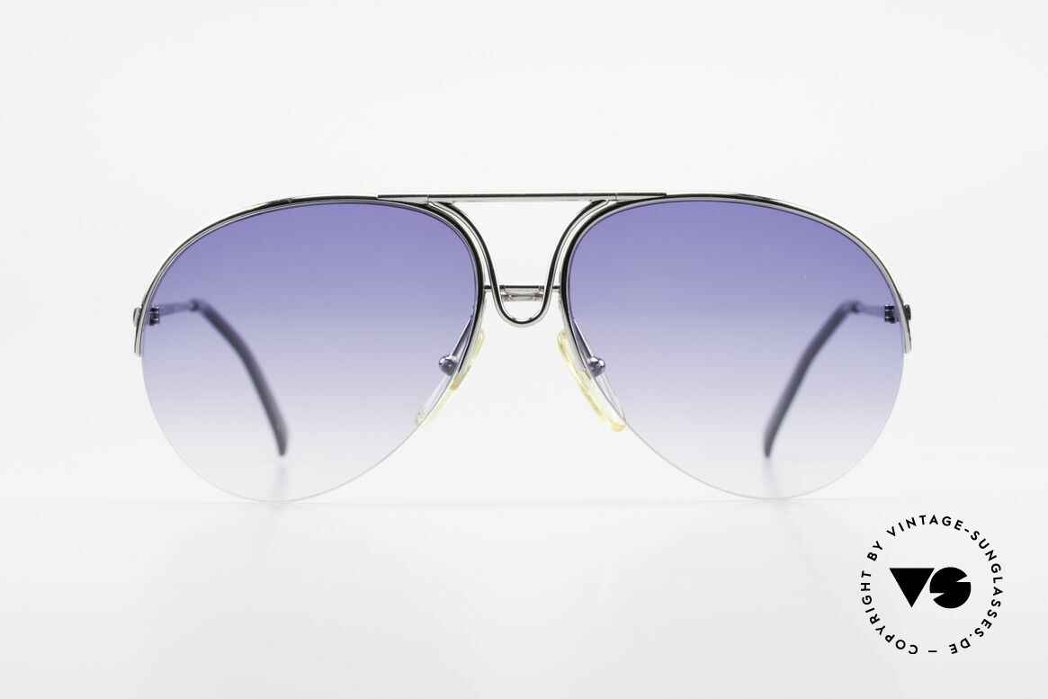 Porsche 5627 Semi Rimless 90's Sunglasses, rimless frame, lightweight & first class comfort, Made for Men