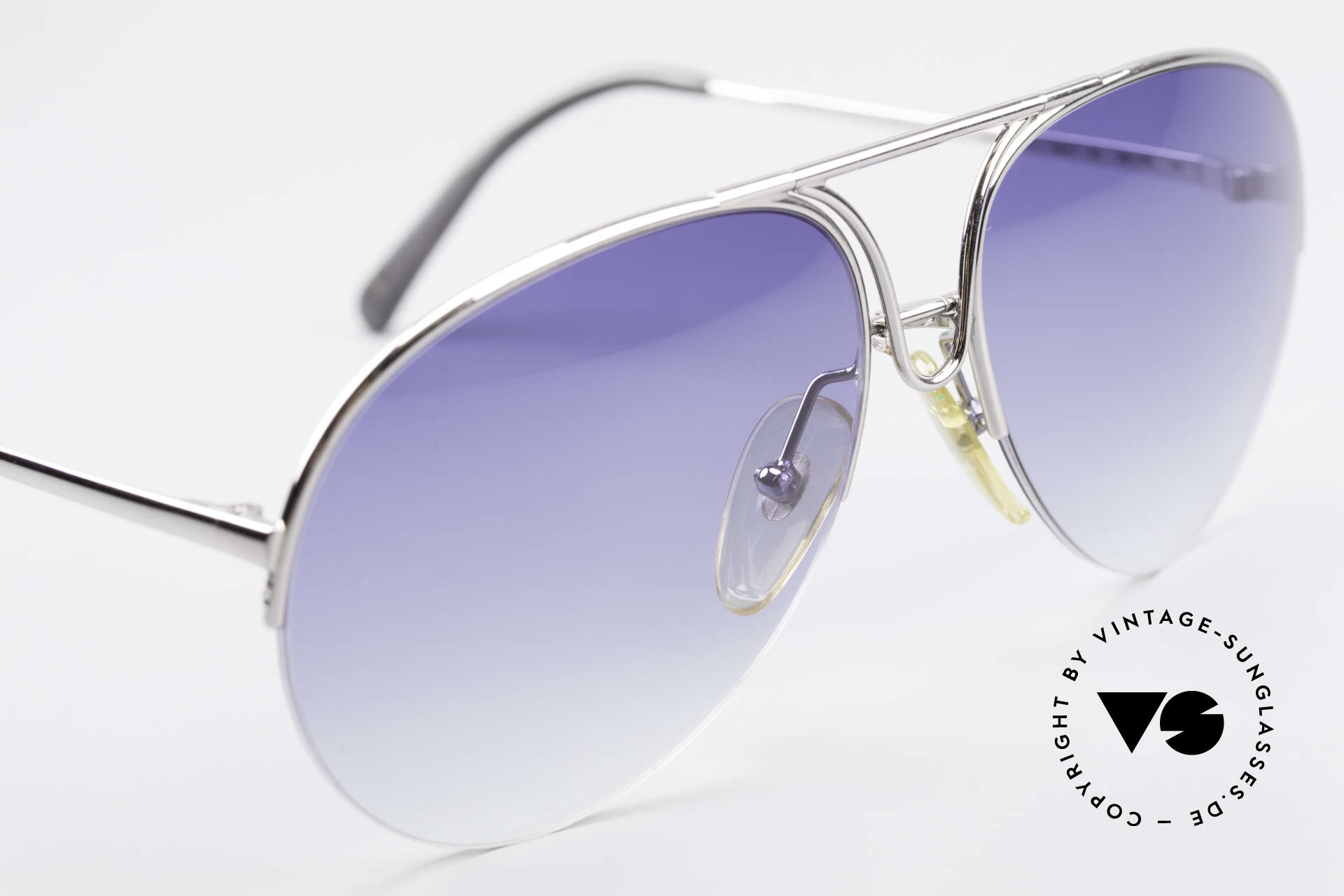 Porsche 5627 Semi Rimless 90's Sunglasses, NO RETRO sunglasses, but an original from 1991, Made for Men