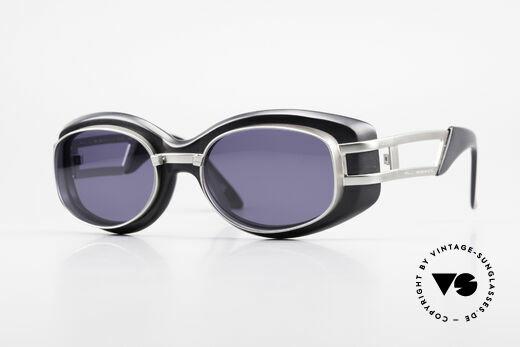 Yohji Yamamoto 52-6201 Rare 90's Steampunk Sunglasses Details