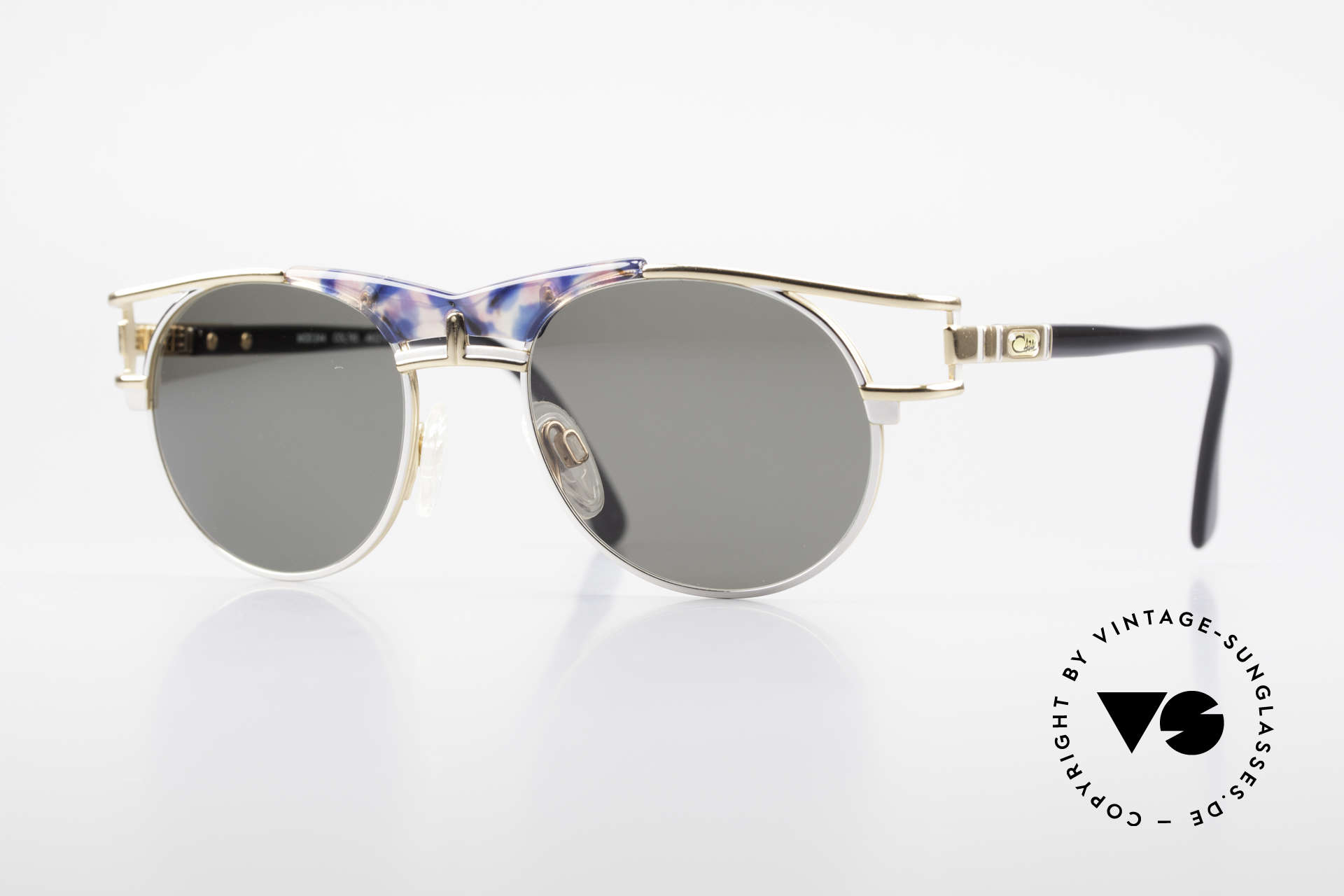 Cazal 244 Iconic Vintage Sunglasses 90's, elegant Cazal designer shades of the early 90's, Made for Men and Women