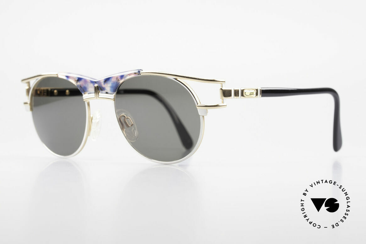 Cazal 244 Iconic Vintage Sunglasses 90's, fantastic combination of colours and materials, Made for Men and Women