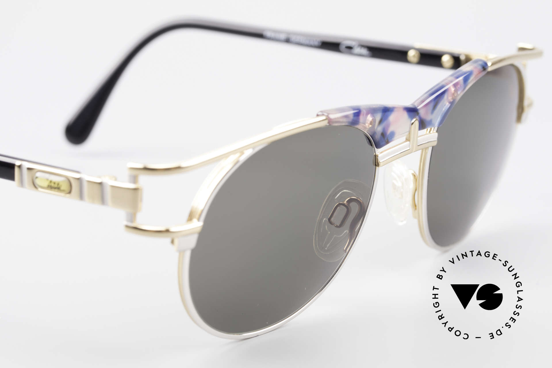 Cazal 244 Iconic Vintage Sunglasses 90's, NO RETRO shades, but a 25 years old ORIGINAL!, Made for Men and Women